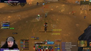 Classic WoW: 60 warrior - Grinding some honor, leveling fishing and cooking, RIVETING CONTENT
