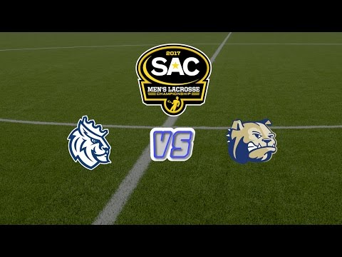 2017 SAC Men\'s Lacrosse Tournament Championship: #2 Wingate vs #4 Queens