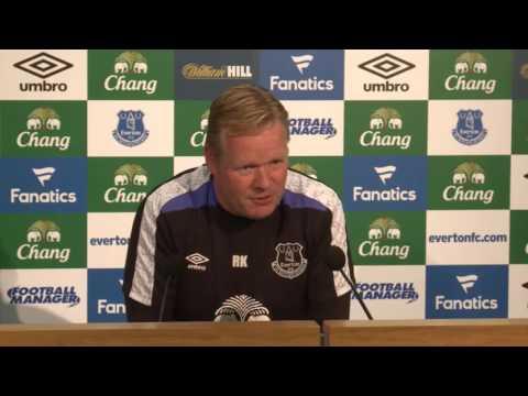 Ronald Koeman's pre-Sunderland press conference
