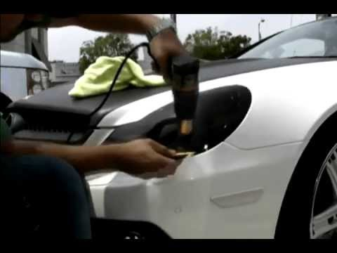 How To Install Headlight Tint Film Youtube