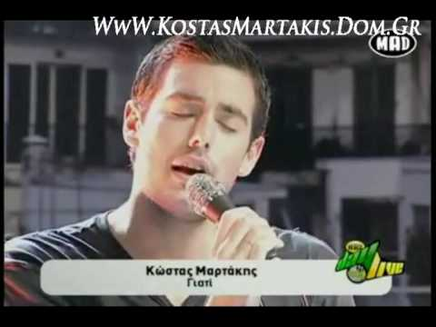 Kostas Martakis - Giati (Mad Day Live)