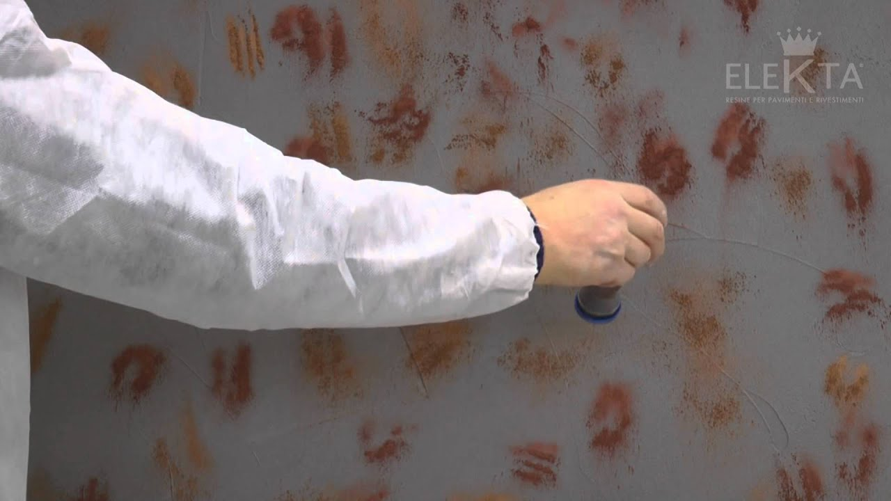 Finitura materia redoxy resina elekta youtube for Resina elekta