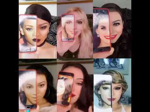 Chinese make up artist transforms herself into celebrities !