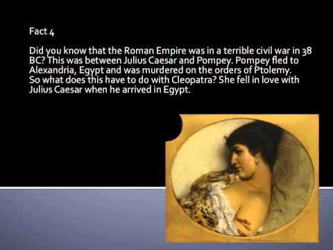 Facts On Cleopatra Queen Of Egypt