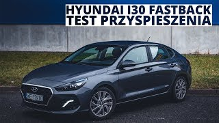 Hyundai i30 Fastback 1.4 T GDI 140 KM AT acceleration 0 100 km h смотреть