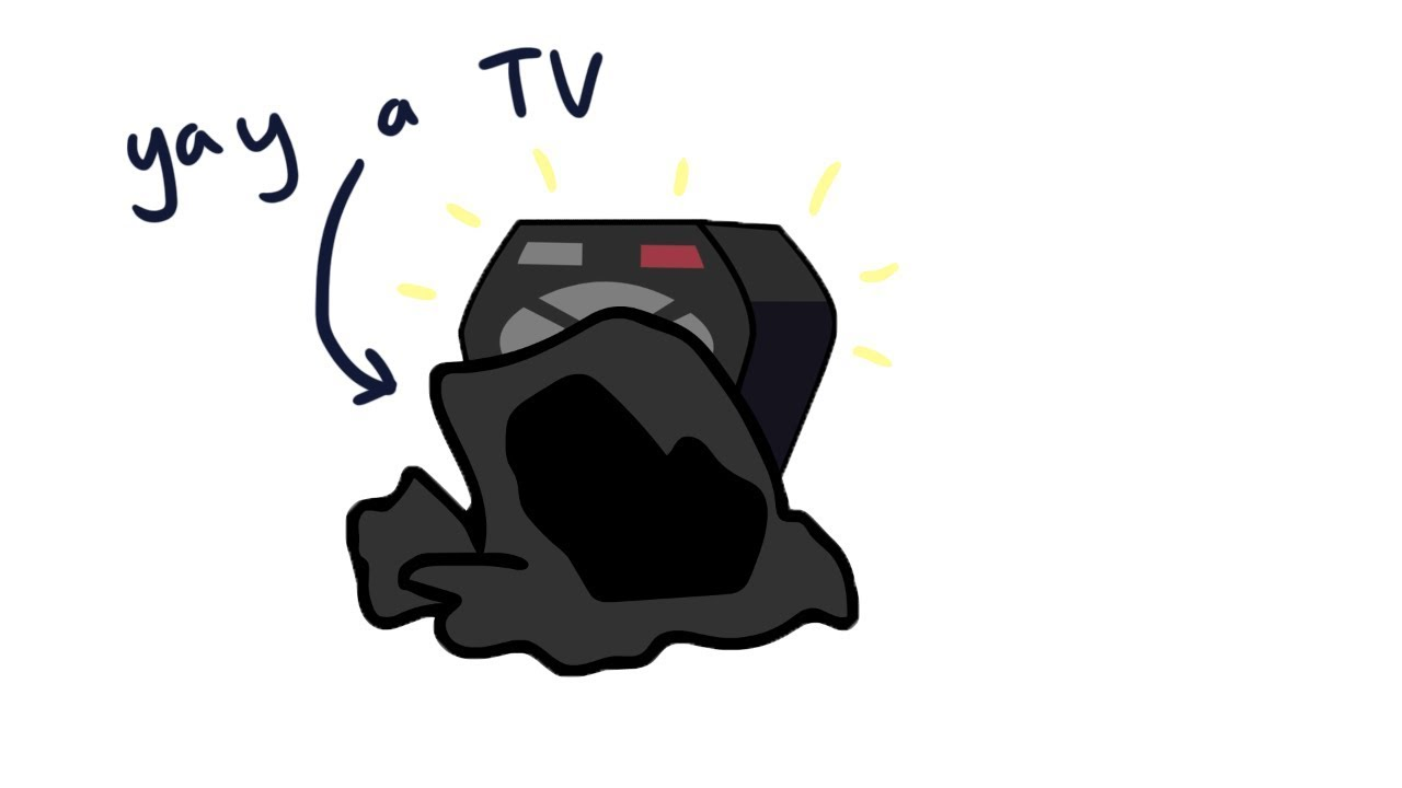 Remote Finds A TV by Cheesy Hfj