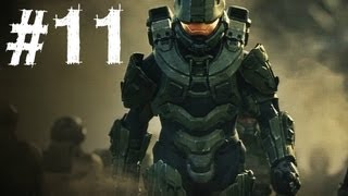 Halo 4 Gameplay Walkthrough Part 11 - Campaign Mission 5 - Size Matters (H4)