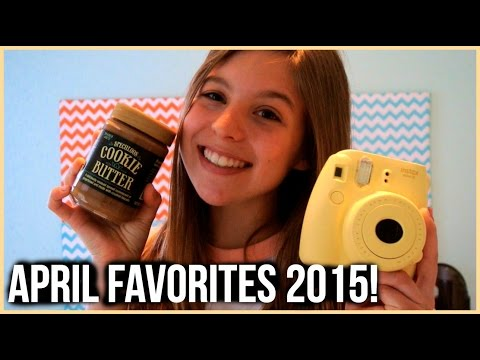 April Favorites 2015!