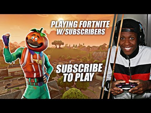FORTNITE NEW UPDATE - NEW TOMATO MAN  +900 WINS PS4 PLAYING W/SUBS