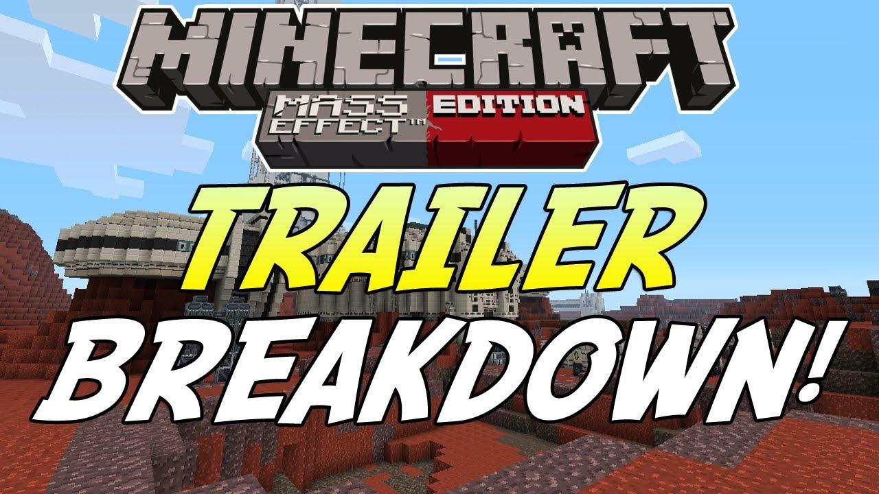 "Minecraft (Xbox 360) - Mass Effect Texture ""MASH-UP PACK"" Trailer BREAKDOWN - YouTube"