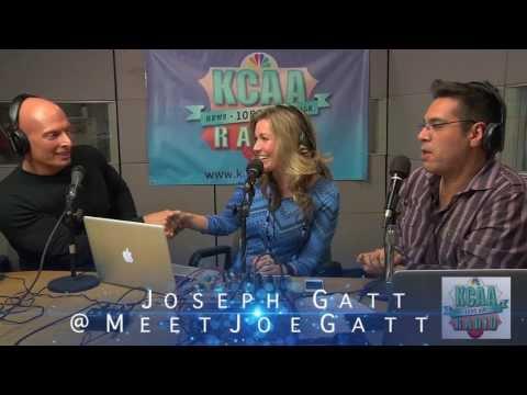Joseph Gatt on LIVE with Aaron & Kelly