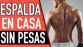 RUTINA DE ESPALDA EN CASA SIN PESAS