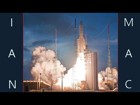 Arianespace - Ariane V VA240 Galileo 19-22 Live Launch Part 1
