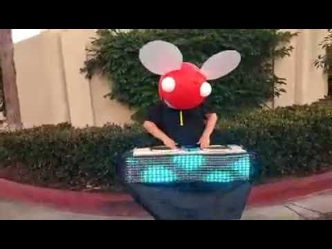 deadmau5 dj booth halloween costume