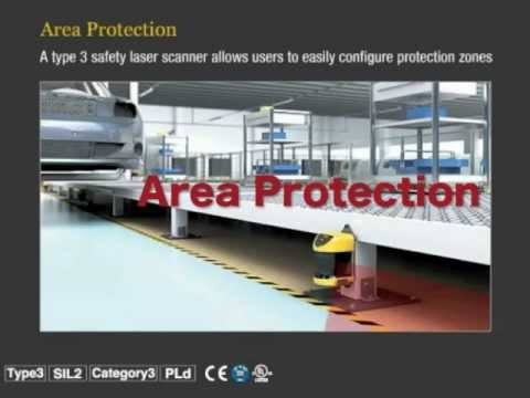 keyence-sz-series-safety-laser-scanner:-zone-configuration-function