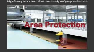 Keyence SZ Series Safety Laser Scanner: Zone Configuration Function