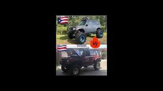 Sideckick o Vitara? Costa Rica vs Puerto Rico  cuál les gusta más de este vs?