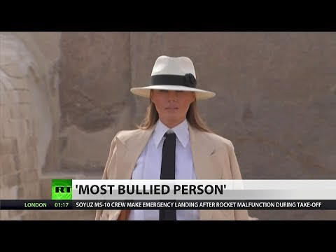 Melania Trump Says She is 'The Most Bullied Person in The World'