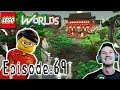 Let's Play Lego Worlds: Episode 69: Building China Town   Part 1