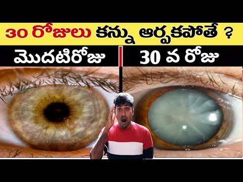 WHAT HAPPENED IF YOU DIDN'T BLINK YOUR EYE FOR 30DAYS?|RANDOM INTERESTING FACTS|TELUGU FACTS|EP