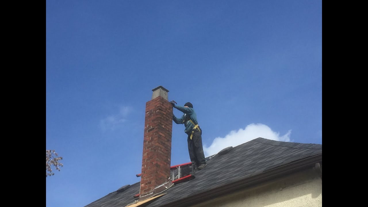 How to remove a chimney - Diy Removing A Chimney Brick By Brick