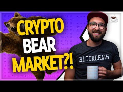 Are we in a crypto bear market? Bitcoin, Cardano, Harmony ONE, + more // Crypto Over Coffee ep.67