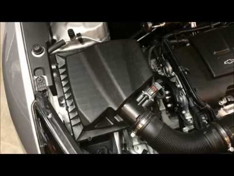 Chevy Cruze Resonator Intake Duct Removal