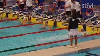 Wiggo Frohde 200m Frisim A-final SM 2018