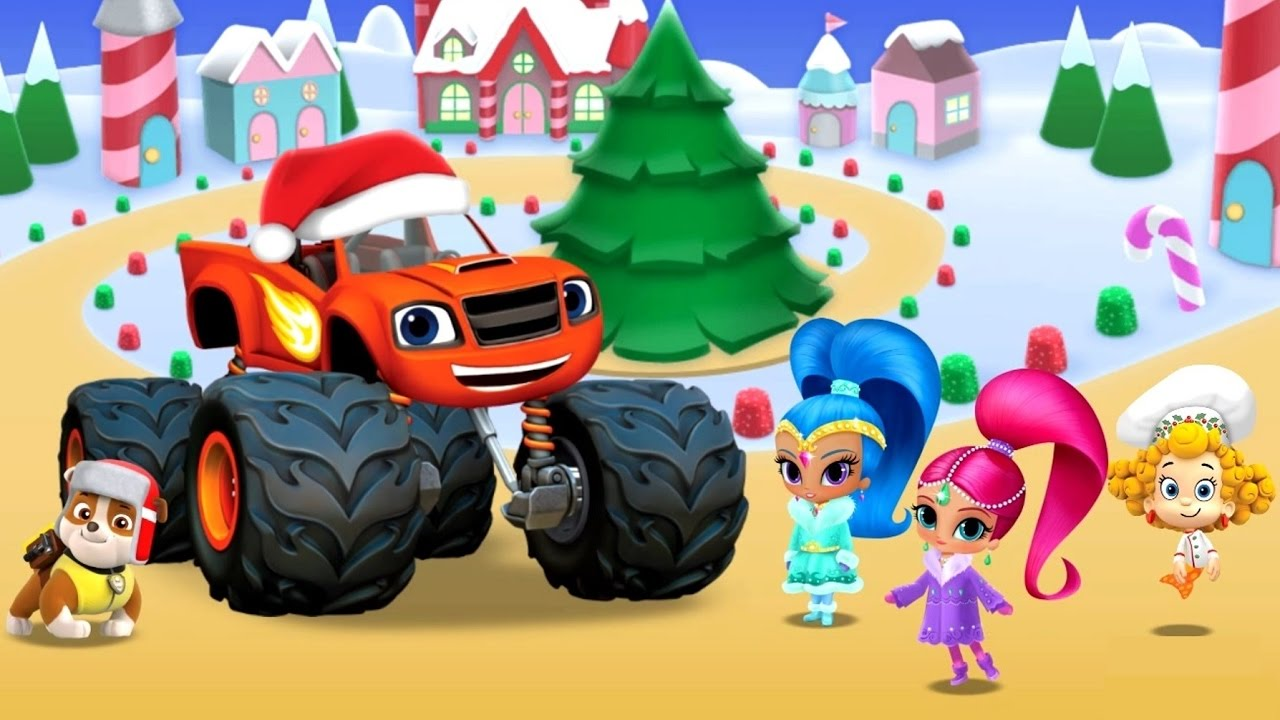 Christmas Festival Cartoon Images.Nick Jr Christmas Festival Paw Patrol Bubble Guppies Cartoon Movie Game For Kids Hd