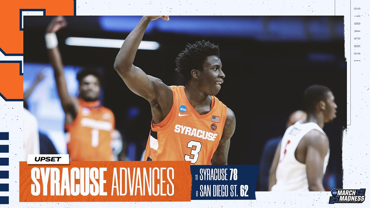 Syracuse basketball box score vs. San Diego State in NCAA ...