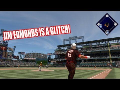 JIM EDMONDS IS A  GLITCH! 96 DANIEL MURPHY DEBUT! - MLB The Show 17 Diamond Dynasty Gameplay