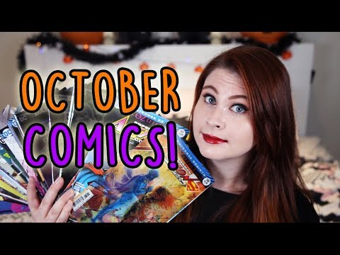 OCTOBER 2017 COMIC BOOK HAUL