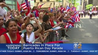 Tens Of Thousands Of People Expected For Puerto Rican Day Parade