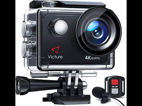 Victure AC920 4K 60Fps Touch Screen Action Camera With 8X Zoom