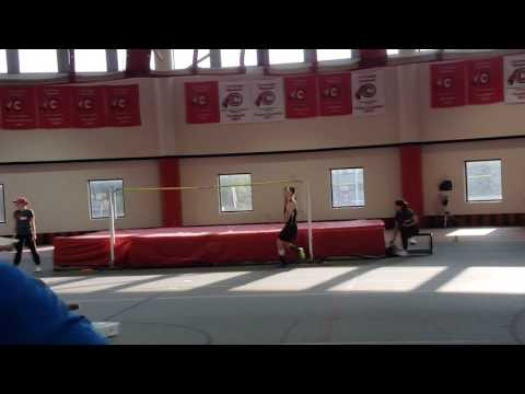 USATF High jump Event at Carthage College 2/5/2017