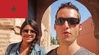 FIRST IMPRESSIONS Of Morocco FIRST Day In Marrakech