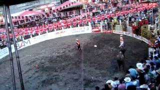 NOVENA MONTA DEL CAMPIONAT CEF RODEO DE GUATEMALA EN TAXISCO SANTA ROSA