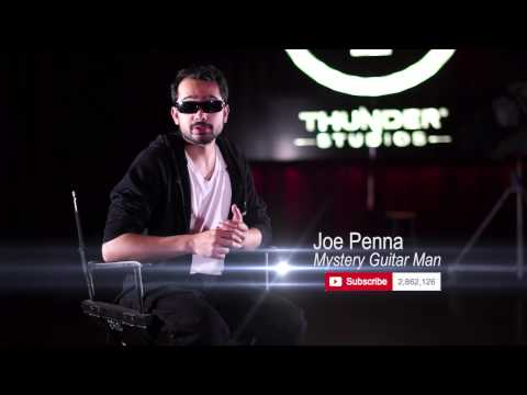 MysteryGuitarMan Joe Penna Interview Behind the Scenes at Thunder Studios
