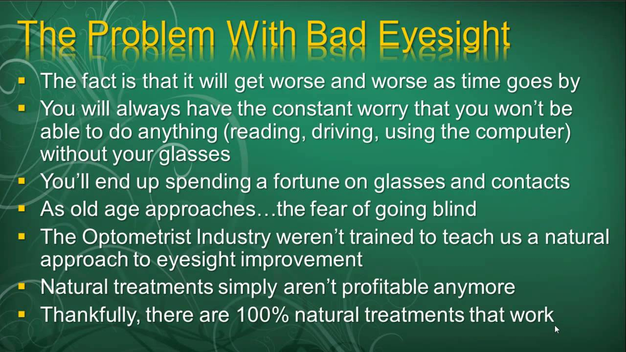 Can You Cure Nearsightedness Naturally