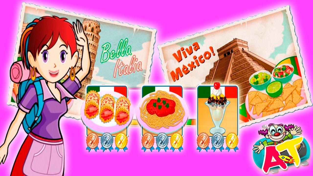 Todos los juegos de cocina con sara stunning juego de cocina con sara quesadillas cooking with - Cocina con sara paella ...