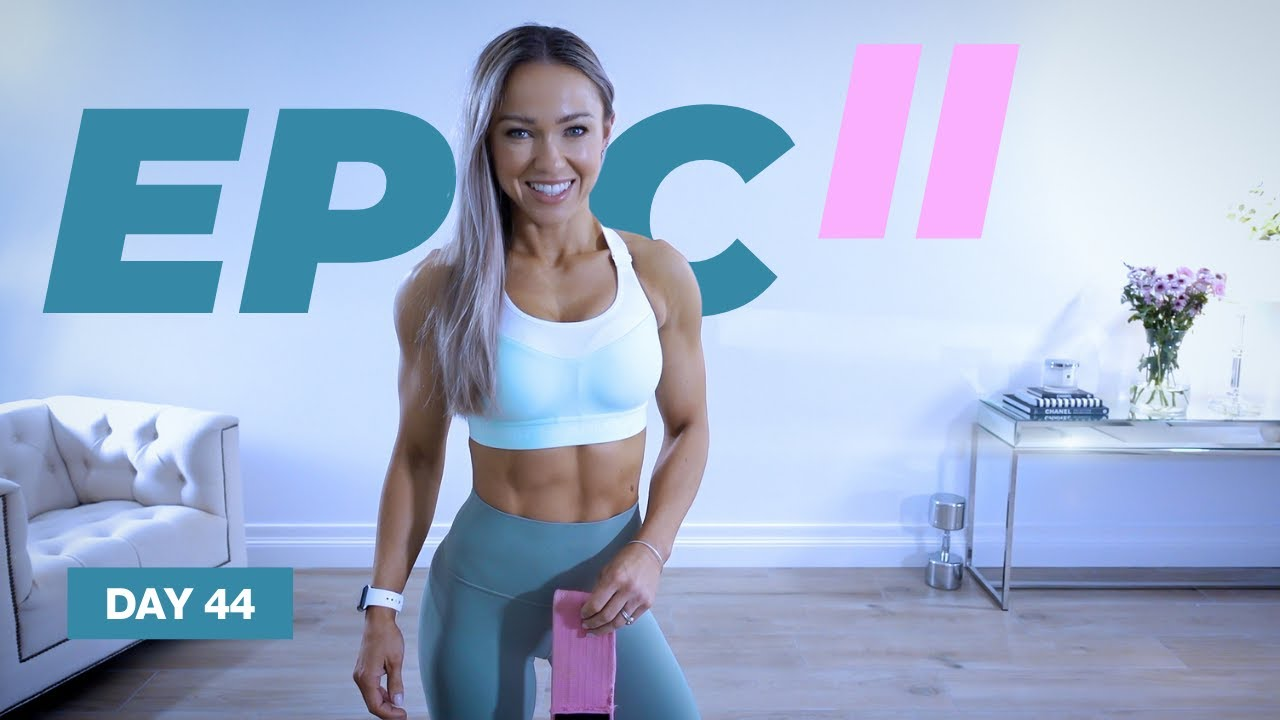 GREAT Glutes & Abs Workout / Hip Thrusts | EPIC II - Day 44