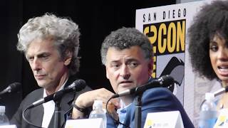 Doctor Who panel @ SDCC 2017 (Peter Capaldi, Pearl Mackie, Steven Moffat)
