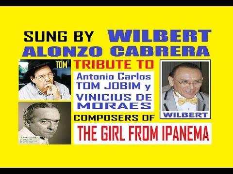 The Girl From Ipanema sung by Wilbert Alonzo Cabrera 2 karaoke
