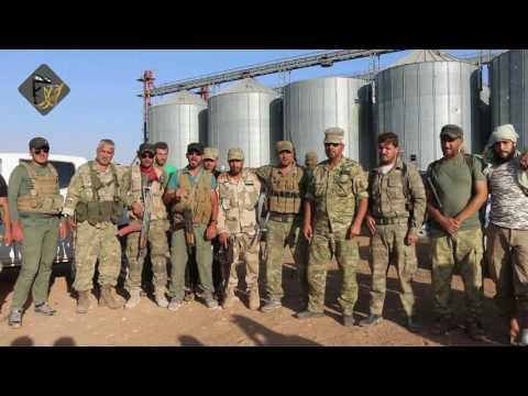 بيان غرفة  عمليات حور كلس - تحريربلدة  الراعي من رجس تنظيم داعش 2016/8/17