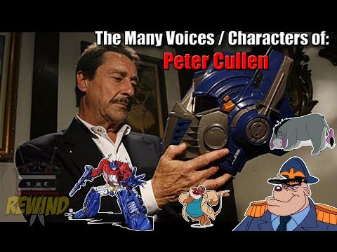 The Many Voices of Peter Cullen 45 Characters Featured HD High Quality