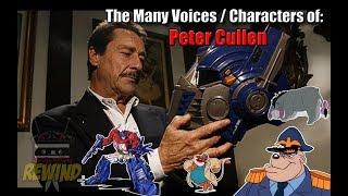 The Many Voices of Peter Cullen (45+ Characters Featured) HD H…