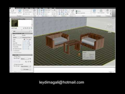 Tercera parte terrasa muebles auto cad youtube for Crear muebles 3d