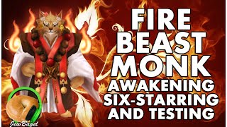 SUMMONERS WAR : Kumar the Fire Beast Monk - Awakening, 6-starring, and Gameplay