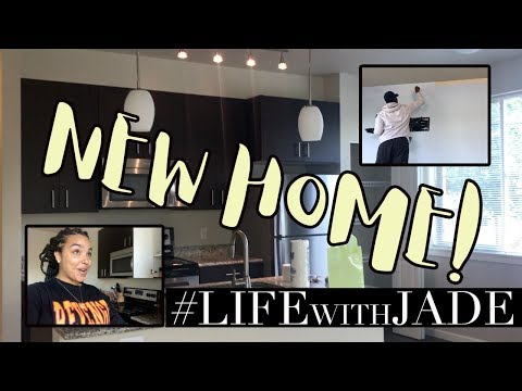 EMPTY APARTMENT TOUR and THE MOVE! Vlog #LifeWithJade