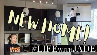 EMPTY APARTMENT TOUR and THE MOVE! Vlog #LifeWithJade Ep.19